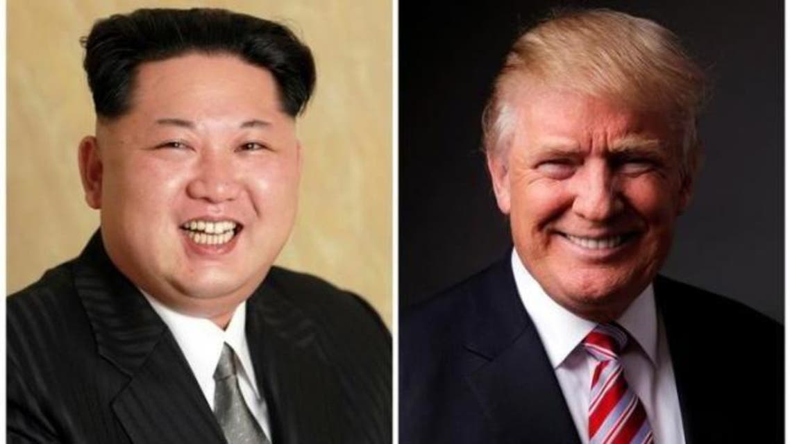 A combination photo shows a Korean Central News Agency (KCNA) handout of North Korean leader Kim Jong Un released on May 10, 2016, and Republican U.S. presidential candidate Donald Trump. (Reuters)