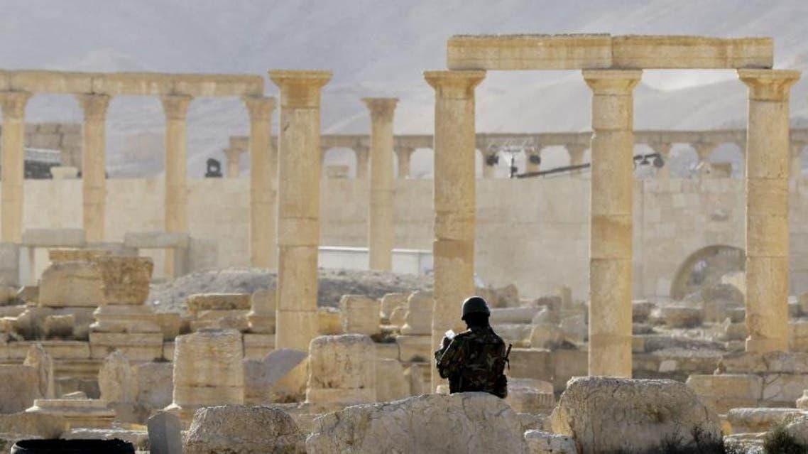 Syrian regime troops looting Palmyra: German expert AFP