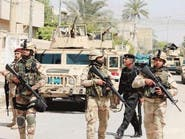 الجيش يرفع العلم العراقي على ناظم المفتول بالصقلاوية