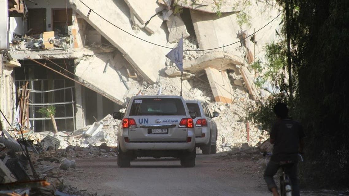 Syria's besieged Daraya gets its first aid since 2012, but no food AFP