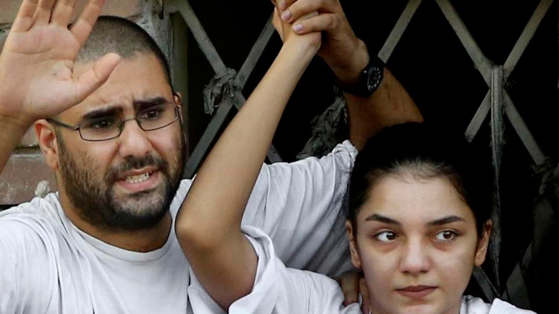 From a young activist, a show of anger at Egypt's courts AP