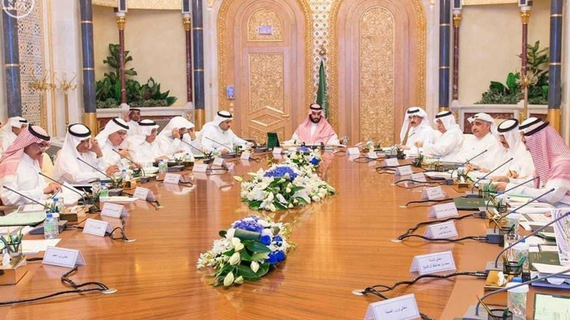 اجتماع مجلس الشؤون الاقتصادية والتنمية، برئاسة الأمير محمد بن سلمان