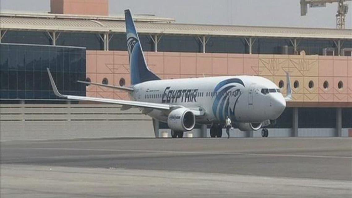 THUMBNAIL_ رصد إشارات من صندوق الطائرة المصرية