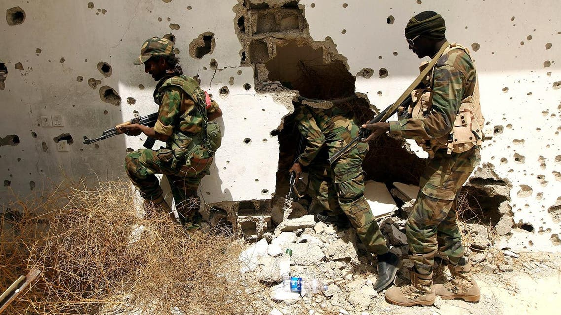 Pro-Libyan government brigades had already seen 75 of their fighters killed and more than 350 wounded before the latest casualties. (AFP)