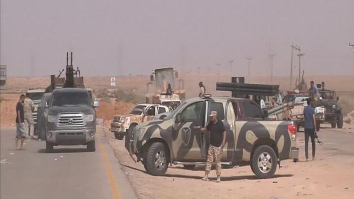 THUMBNAIL_ قوات حكومة الوفاق الليبية تتقدم نحو سرت معقل داعش