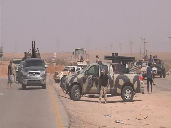 قوات حكومة الوفاق الليبية تدخل الشارع الرئيسي في سرت