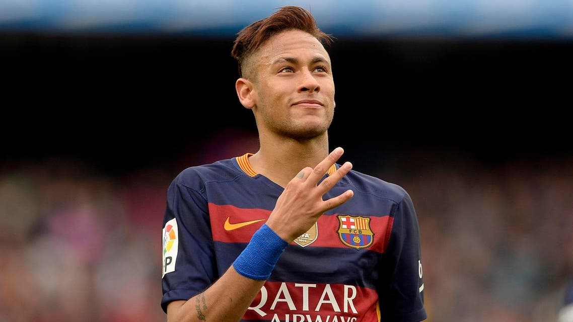 Neymar, who joined Barcelona in 2013 from Brazil's Santos in a deal which has haunted all concerned because of alleged hidden payments, is under contract until 2018. (AFP)