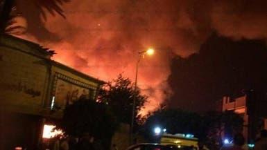 """مصر.. حريق هائل يلتهم """"تاريخ السينما"""""""