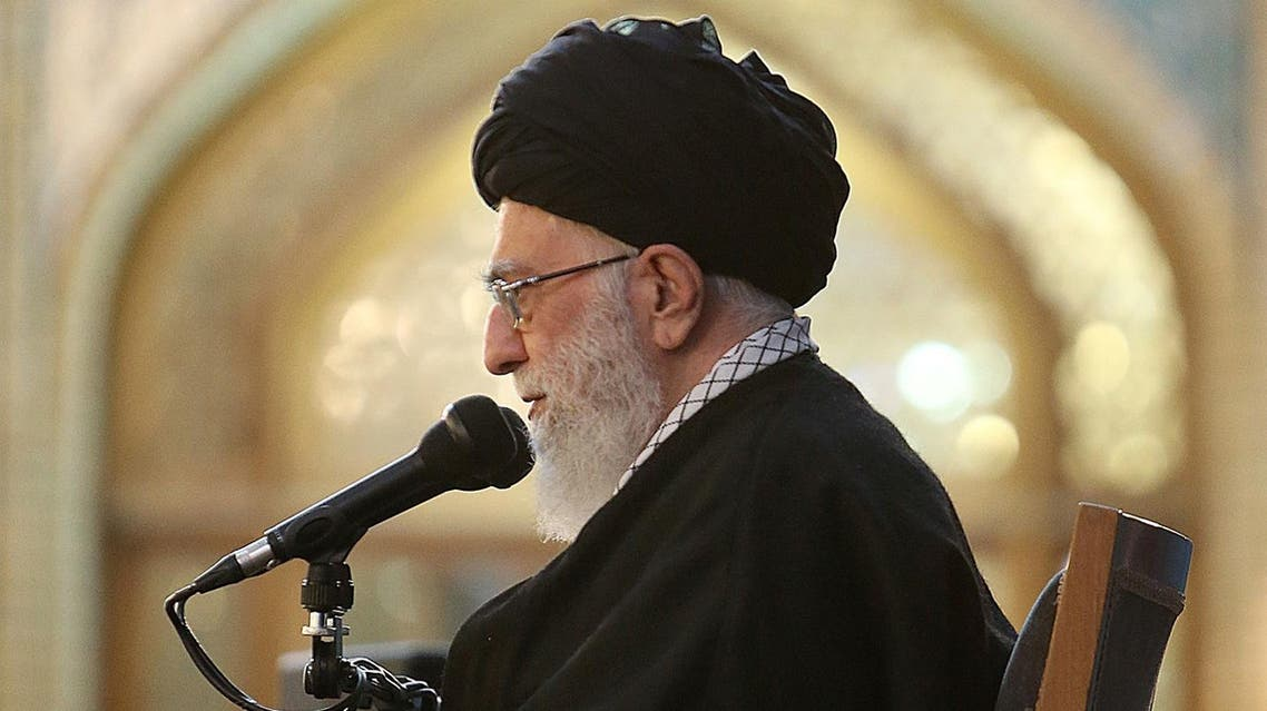 Khamenei also accused Washington of not being committed to a nuclear deal reached between Tehran and six major powers. (AFP)