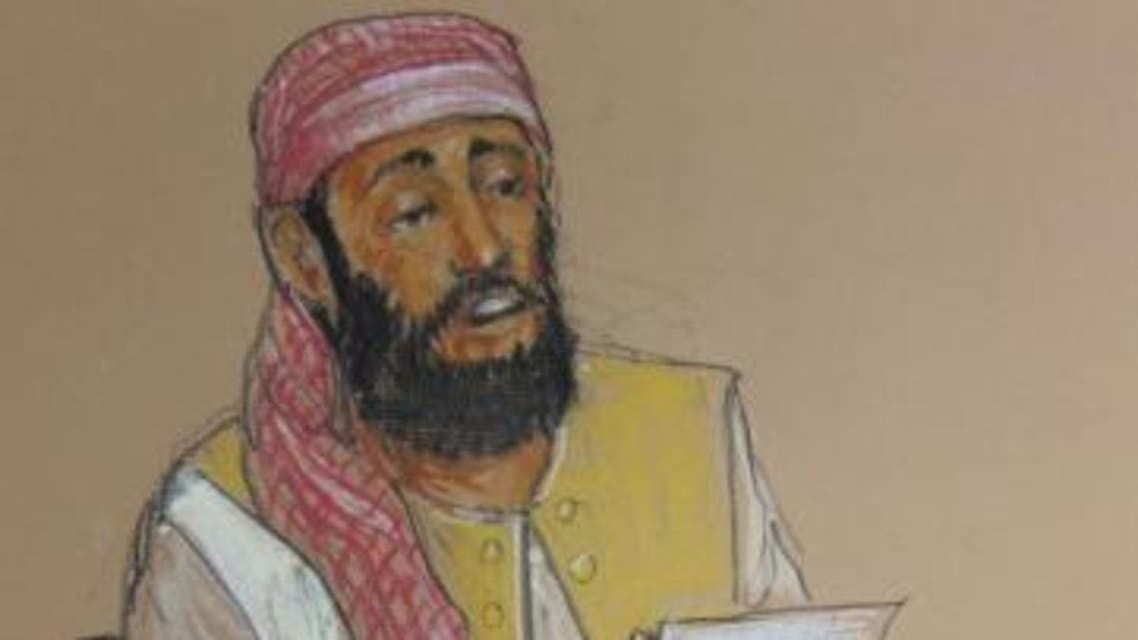 Ramzi bin al Shibh is among five men being tried for conspiring to help hijackers slam airliners into New York's World Trade Center. (Reuters)