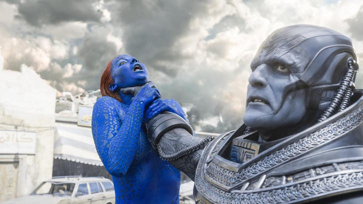 Fox apologizes for 'X-Men' billboard showing strangled Mystique