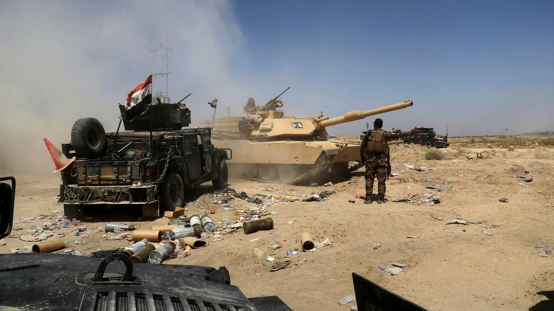 Iraqi military forces prepare for an offensive into Fallujah to retake the city from ISIS militants in Iraq, Friday, June 3, 2016. (Photo: AP/ Khalid Mohammed)