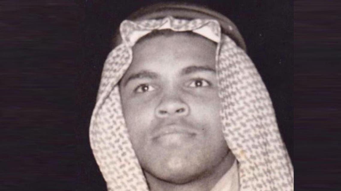 محمد علي كلاي في الزي السعودي