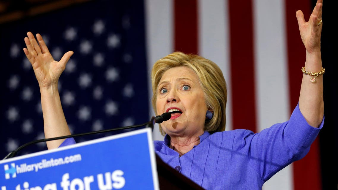 """U.S. Democratic presidential candidate Hillary Clinton speaks at a """"Women for Hillary"""" event in Culver City, California, United States, June 3, 2016. REUTERS"""