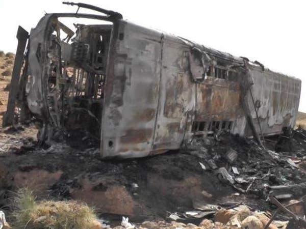 الجزائر.. مقتل 33 شخصا في حادث اصطدام شاحنة بحافلة ركاب