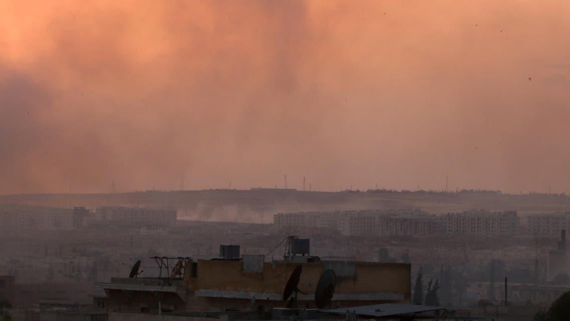 Air strikes in Syria