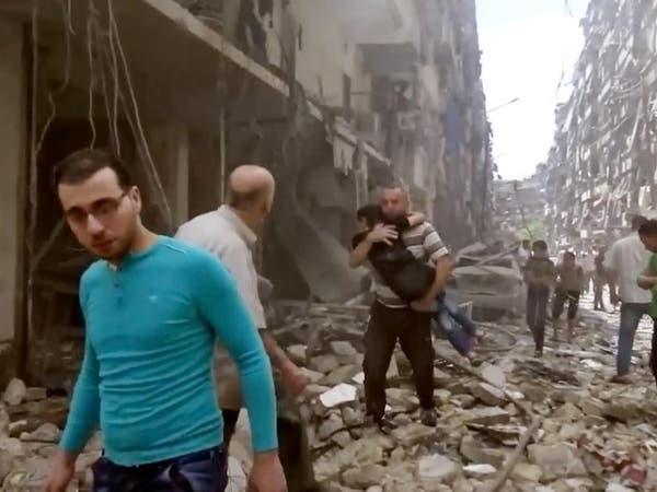 """روسيا تتعهد بدعم جوي """"أكثر فعالية"""" لقوات الأسد في حلب"""