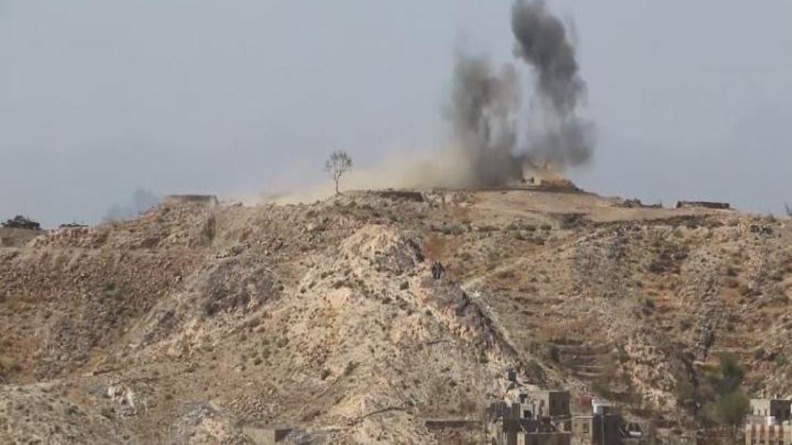 THUMBNAIL_ اليمن.. صواريخ المتمردين تستهدف المدنيين في تعز