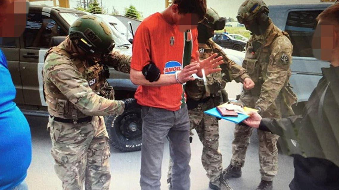 اعتقال فرنسي اوكرانيا