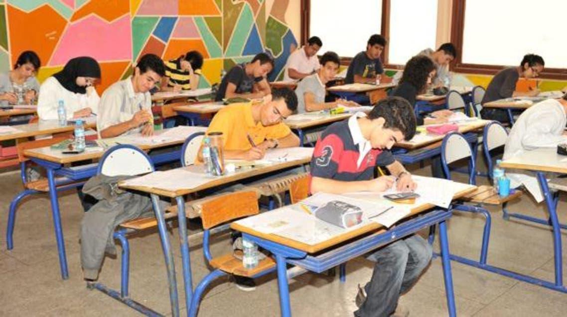 تلاميذ مغاربة يجتازون امتحانات الباكالوريا المغربية