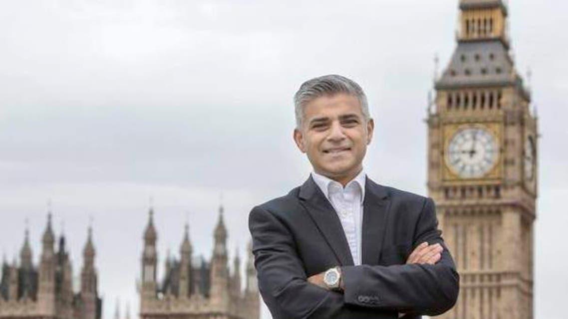 عمدة لندن - صادق خان