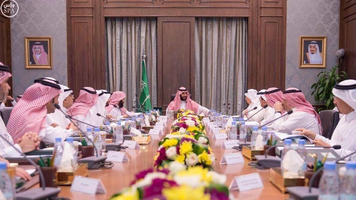 اجتماع مجلس الشؤون الاقتصادية والتنمية برئاسة الأمير محمد بن سلمان