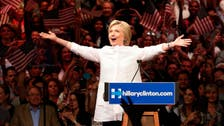 Clinton declares herself Democratic nominee