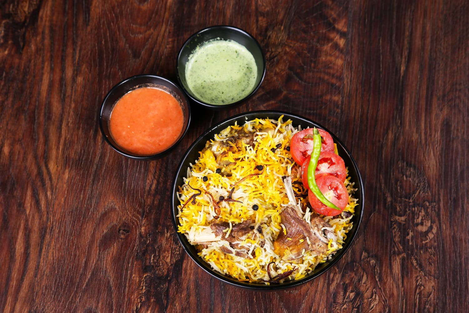 Biryani is a mixed rice dish from the Indian subcontinent. It is made with spices, rice, lentils, meat and vegetables. (Shutterstock)