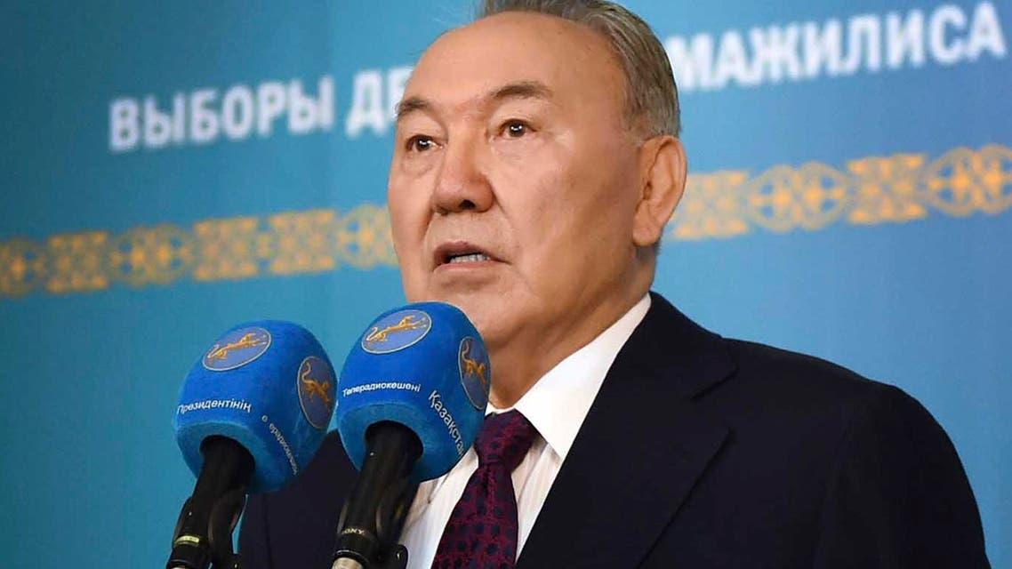 KAZAKH PRESIDENT SAYS DEADLY ATTACKS ORGANISED 'FROM