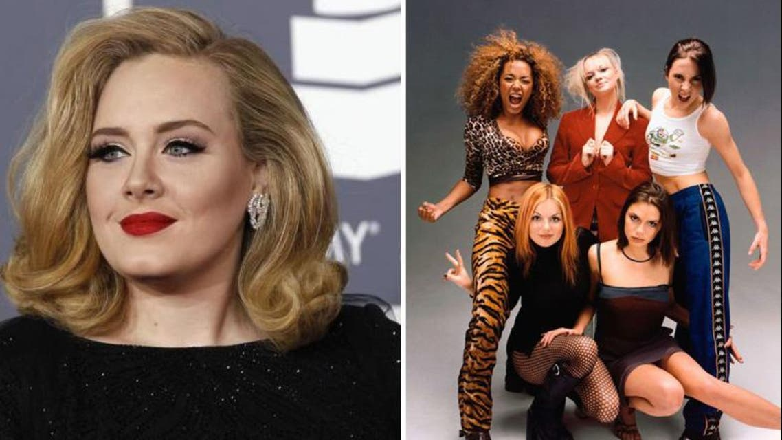 Adele - Spice Girls (Reuters)