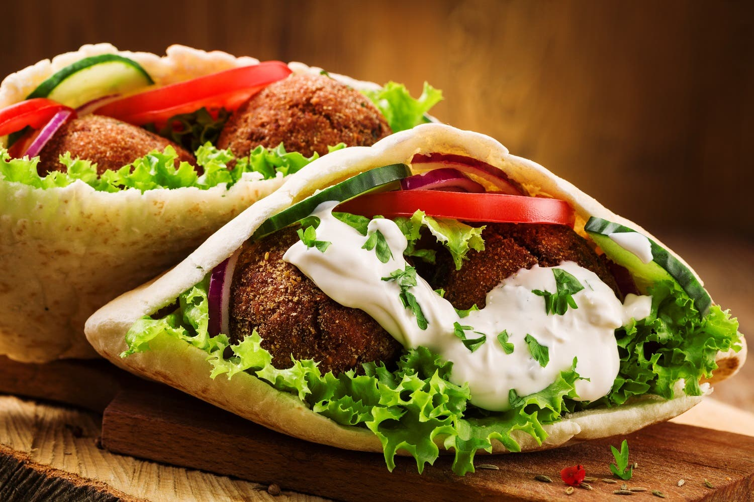 Falafel is made from fava beans or chickpeas, or a combination of the two. The use of chickpeas is predominant in most Middle Eastern countries. (Shutterstock)