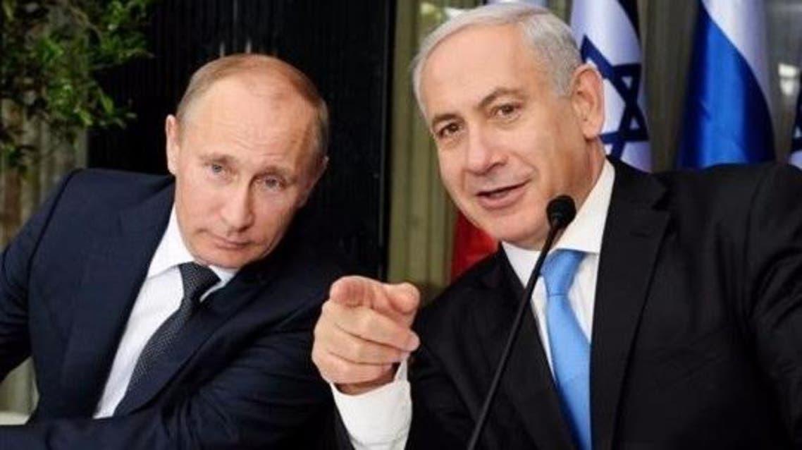 نتنياهو بوتين