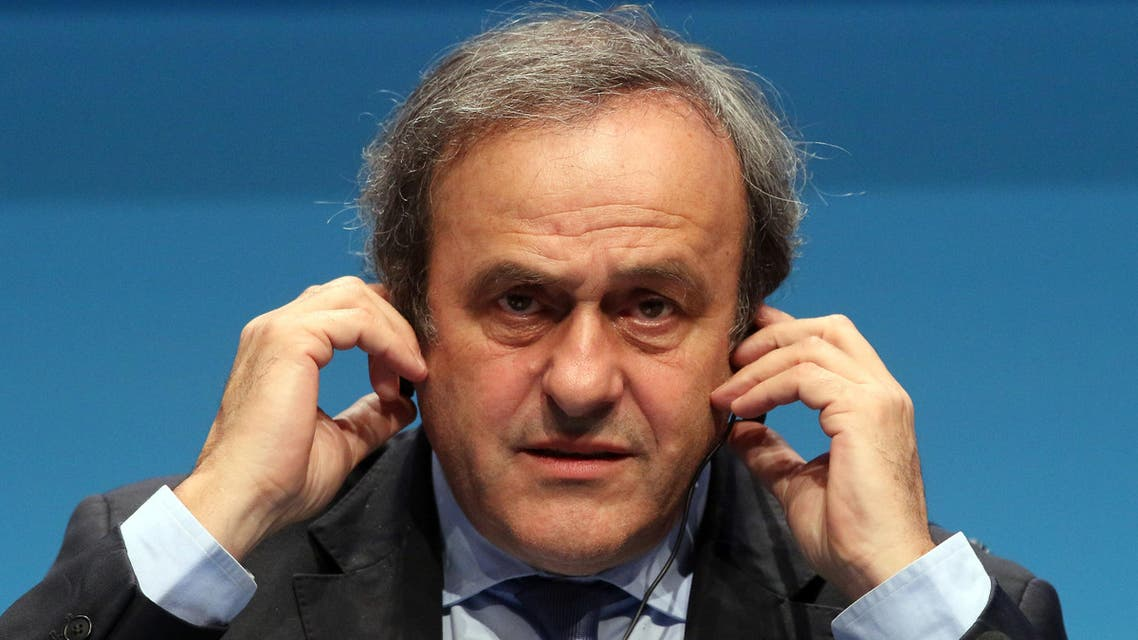 Banned UEFA president Michel Platini will be allowed to attend matches at the European soccer Championship providing he does not do it in any official role. (File photo: AP)