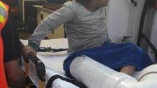 """بالصور.. إنقاذ طفل علقت قدمه في """"ماسورة صرف"""" وقت السحور"""
