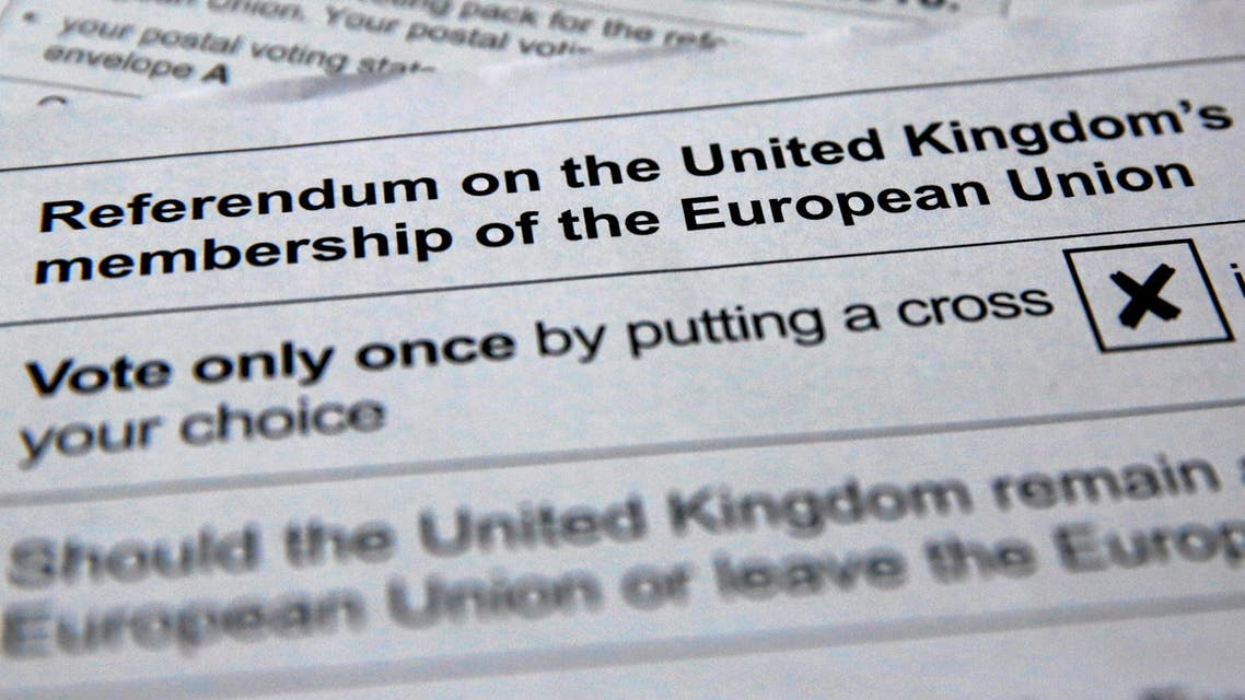 Britons still undecided on how they will vote in a referendum on EU membership