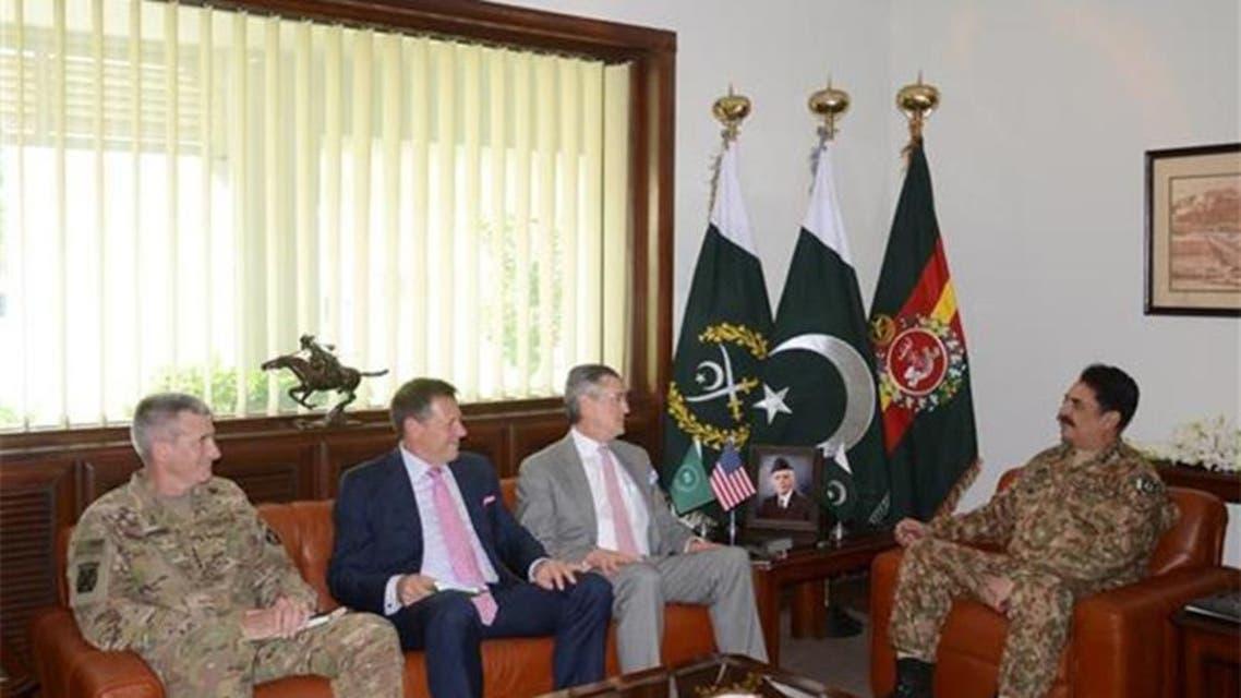 General Raheel Sharif With US General
