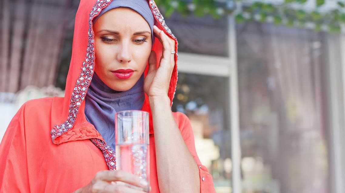 Water is the most important fluid to replenish your thirst, unfortunately, most people forget to drink enough and have only small amounts at Iftar. (Shutterstock)