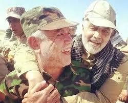 هادي العامري وقاسم سليماني في معركة تكريت