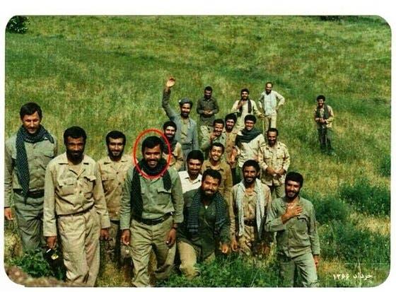 هادي العامري في صفوف الحرس الثوري بالثمانينات