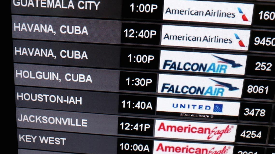 © Getty/AFP/File | The US awarded licenses to American Airlines, Frontier Airlines, JetBlue, Silver Airways, Southwest and Sun Country Airlines top fly to Cuba. (AFP)