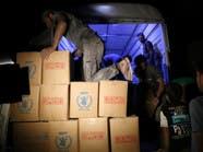 دخول مساعدات للحولة بحمص.. والقصف يعرقل التوزيع بداريا