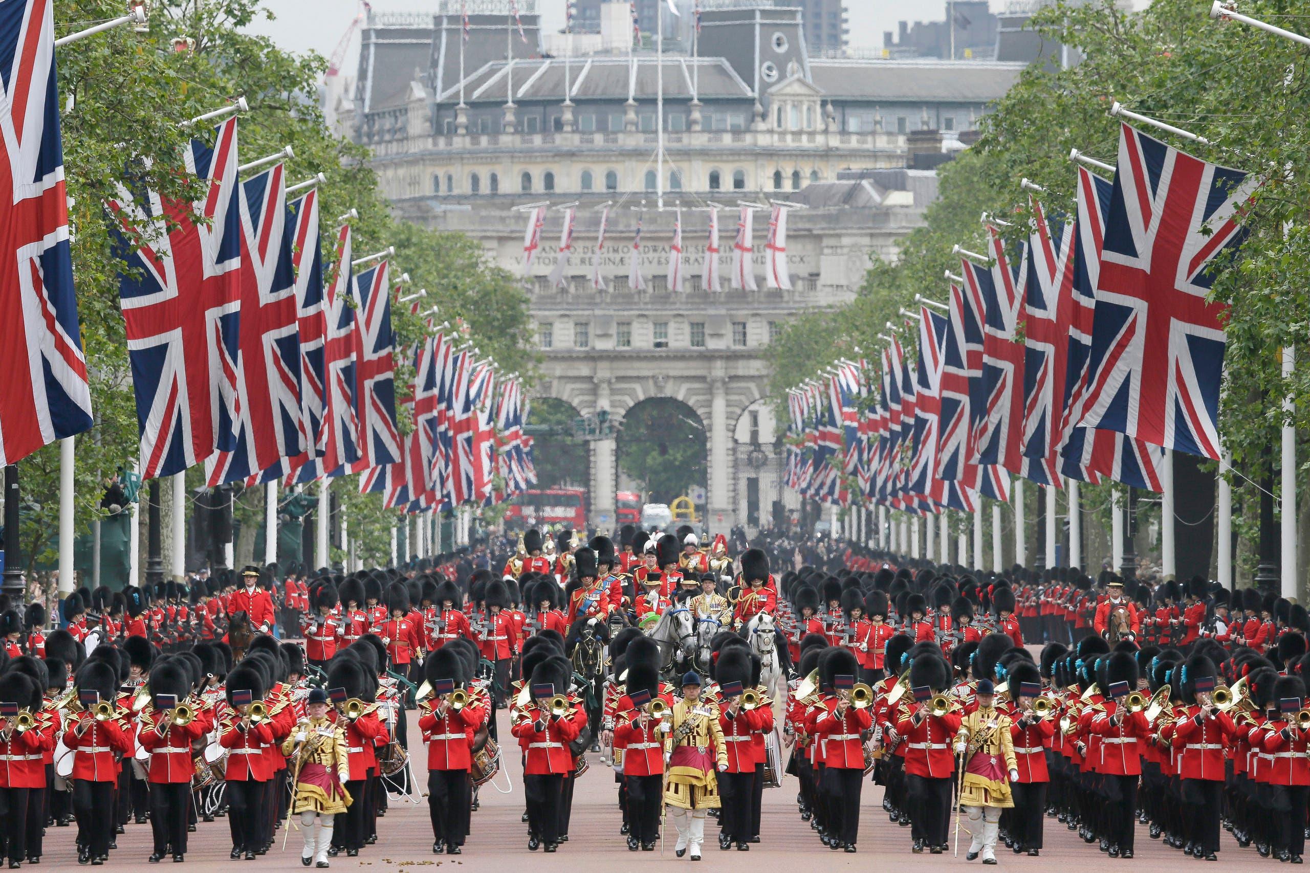 Britain's Queen Elizabeth II celebrates 90th birthday