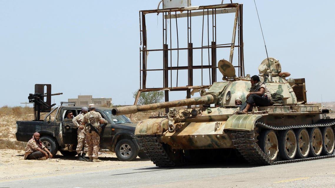 قوات موالية للشرعية في ليبيا في مركز سرت - فرانس برس