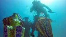 Three divers in Saudi Arabia welcome Ramadan at bottom of Red Sea
