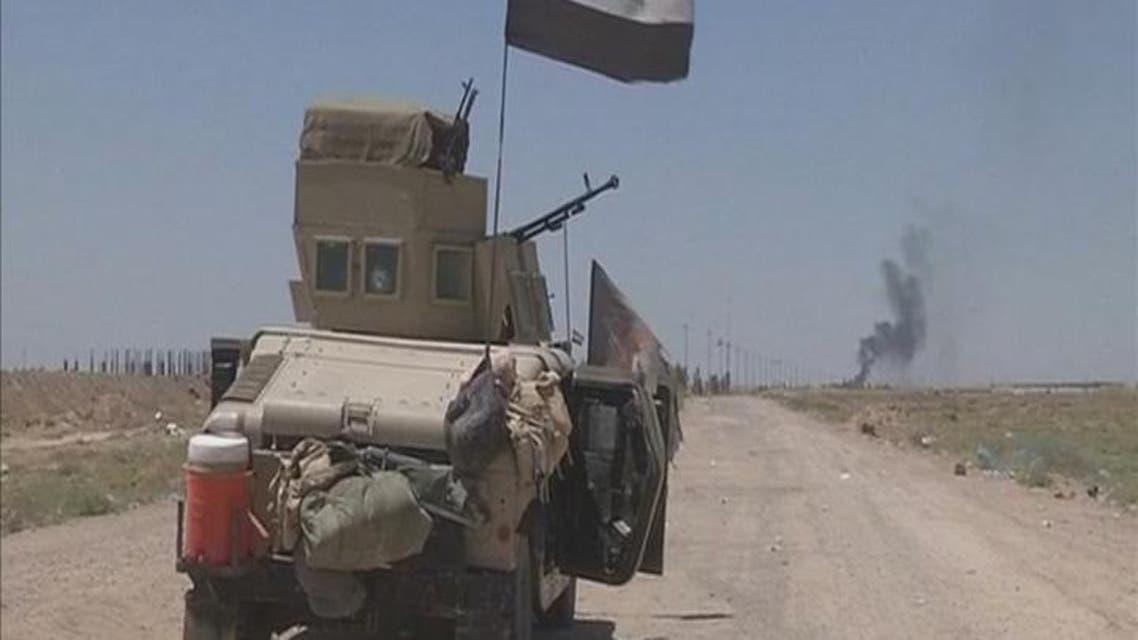 THUMBNAIL_ القوات العراقية على تخوم الفلوجة