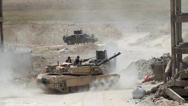 القوات العراقية تطهر حي الخضراء جنوب الفلوجة من الدواعش