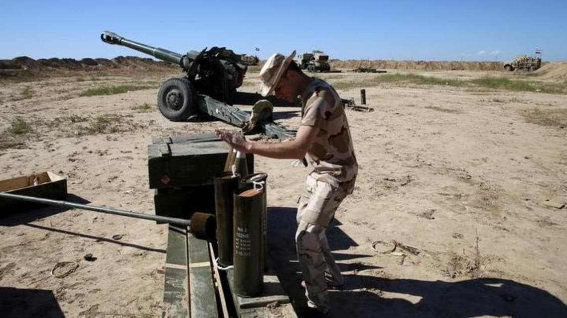 Iraqi forces attack Islamic State positions south of Mosul