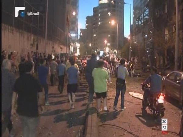 لبنان.. انفجار يهز بيروت وأصابع الاتهام توجه لحزب الله