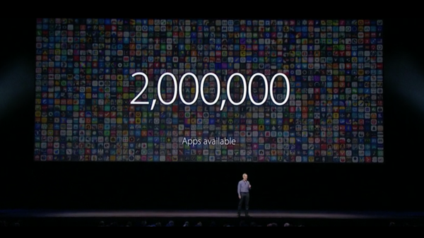 2 مليون تطبيق في متجر آبل و130 مليار عملية تنزيل coobra.net