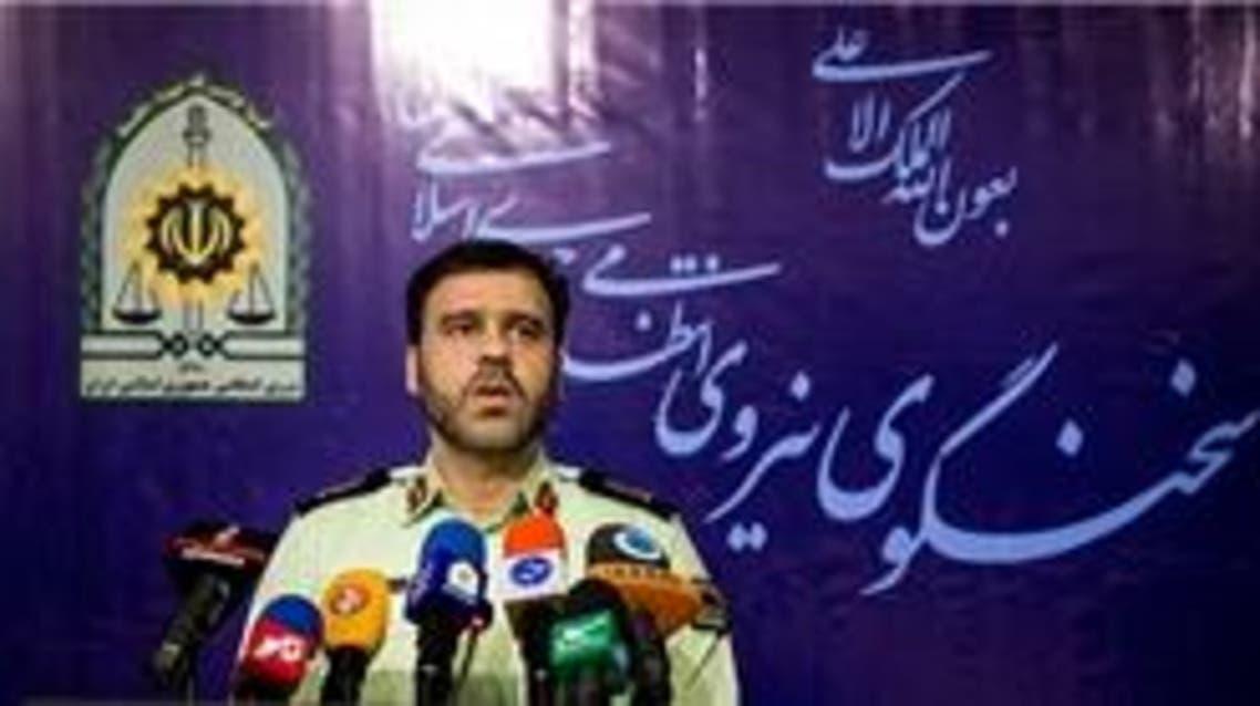 قائد قوى الامن الداخلي الايراني العقيد سعيد منتظر المهدي